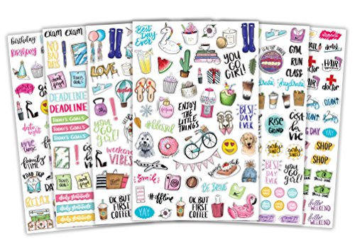 bloom daily planners Productivity Stickers
