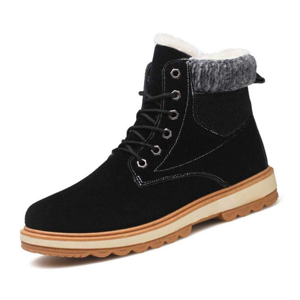 GZ Herren Formelle Formelle Formelle Schuhe, Winter Mühle Sand Lace-Up Martins Stiefel, Warme Winddichte Schneeschuhe, Freizeitschuhe a13364