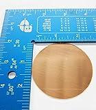 Copperlab 2-5/8 Inch Round Circle Disc Copper