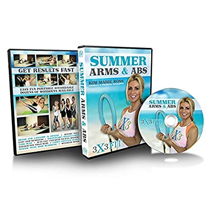 Amazon com : 3X3 FIT Summer Arms & Abs DVD : Sports & Outdoors