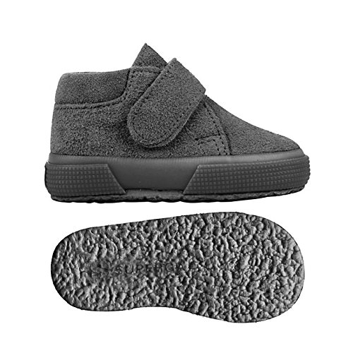 Superga S001NW0 - Zapatos de cordones para niños Full Grey Stone