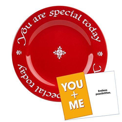 Waechtersbach You Are Special Today Red Plate - Premium Cera
