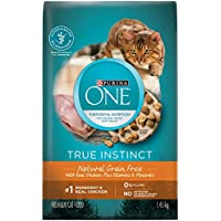 Purina ONE True Instinct Grain Free Natural Dry Cat Food; Chicken Formula - 1.45 kg Bag