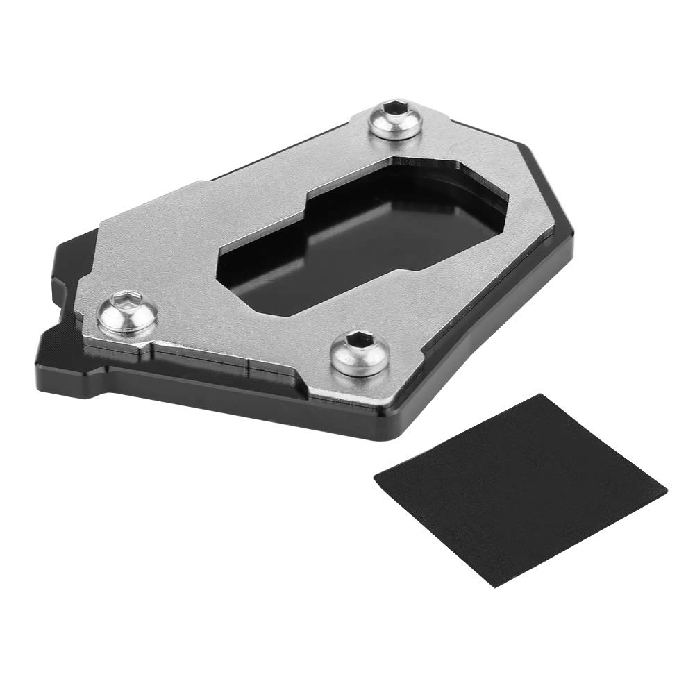 R1200GS Adventure LC 14-16 Duokon Ejoyous CNC Motorcycle Side Kickstand Foot Side Stand Extension Pad Plate for BMW R1200GS LC 13-16