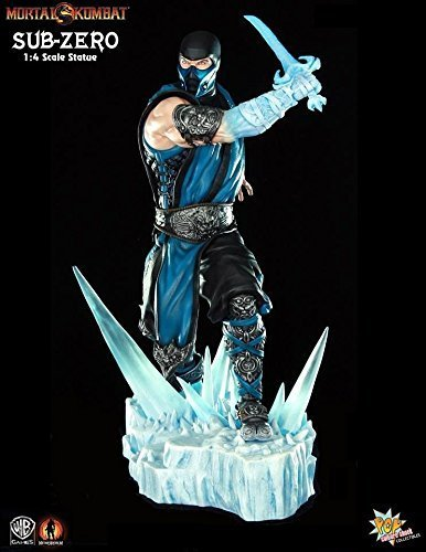 Pop Culture Shock Collectibles Mortal Kombat 9: Sub-Zero Statue (1:4 Scale)