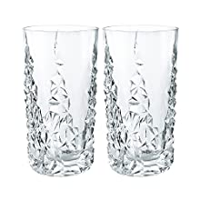 Nachtmann Sculpture Long Drink Glass, Set of 2