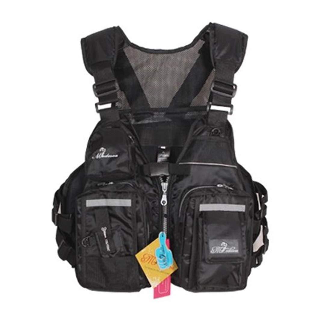 UICICI Fliegenfischer Weste Jacke atmungsaktiv Polyester Mesh Design Angeln Weste für Reisende Sport Wandern