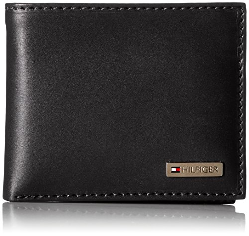 tommy-hilfiger-leather-mens-multi-card-passcase-bifold-wallet-with-removable-card-holder