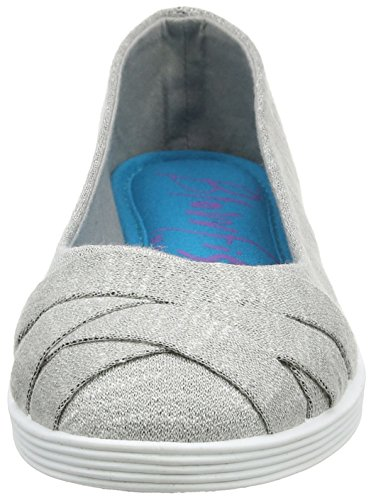 Grey Blowfish Flats Closed 016 Women's Grey Ballet Toe Grey Glo2 Heather aZPfgZ