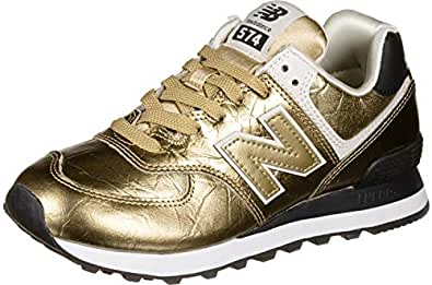 New Balance Wl574Wep Classic Traditional Lace Up Gold