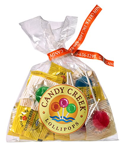 Candy Creek Sugar Free Fruit Lollipops, 20 Pop Sampler ()