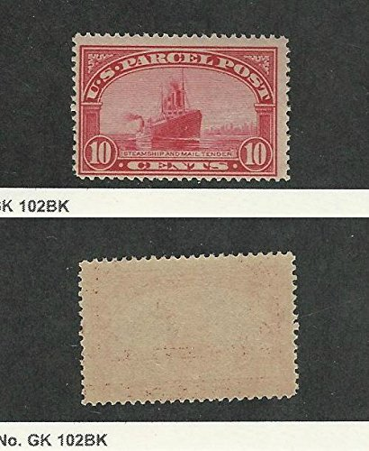 (United States, Postage Stamp, Q6 Mint NH, Ship, 1913 Parcel Post)