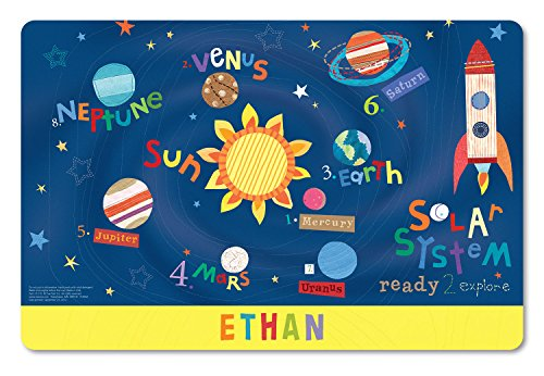 Personalized Placemat Craft Mat Outer Space