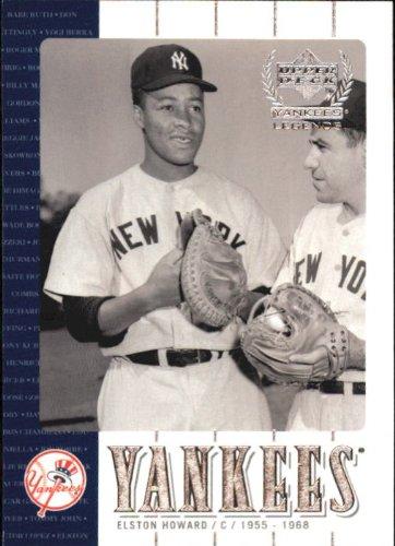 2000 Upper Deck Yankees Legends Baseball Card #16 Elston Howard Near Mint/Mint