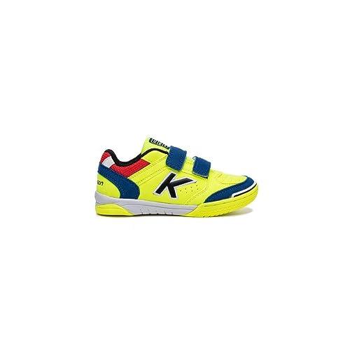KELME Precision Kids V, Zapatillas de fútbol Sala para Niños: Amazon.es: Zapatos y complementos