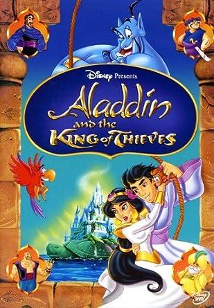 Amazon Com Aladdin And The King Of Thieves Robin Williams Scott Weinger Linda Larkin John Rhys Davies Gilbert Gottfried Jerry Orbach Val Bettin Frank Welker Tad Stones Movies Tv
