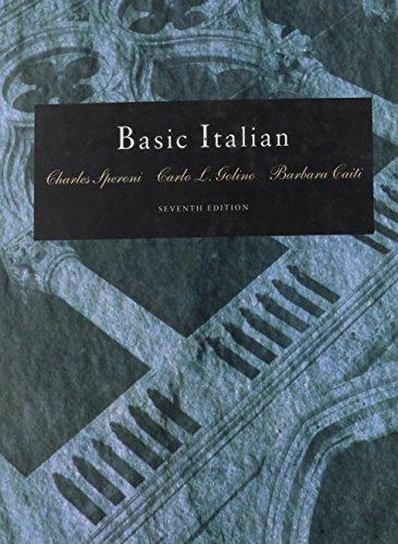 Basic Italian (Book Only)