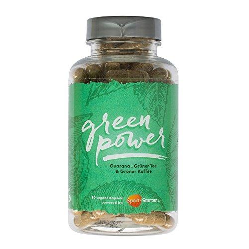 Fatburner Diät-Kapseln | Abnehmen Einfach und Effektiv ohne Diät mit Green Power | 90 Tabletten Made in Germany