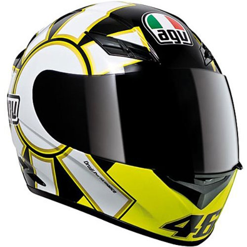AGV K3 Gothic Full Face Motorcycle Helmet (Multicolor, XX-Large)