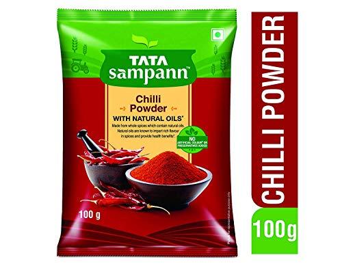 Tata Sampann Chilli Powder, 100g