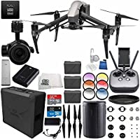 DJI Inspire 2 Premium Combo with Zenmuse X5S and CinemaDNG and Apple ProRes Licenses Videographer 240G PRO Essential Bundle