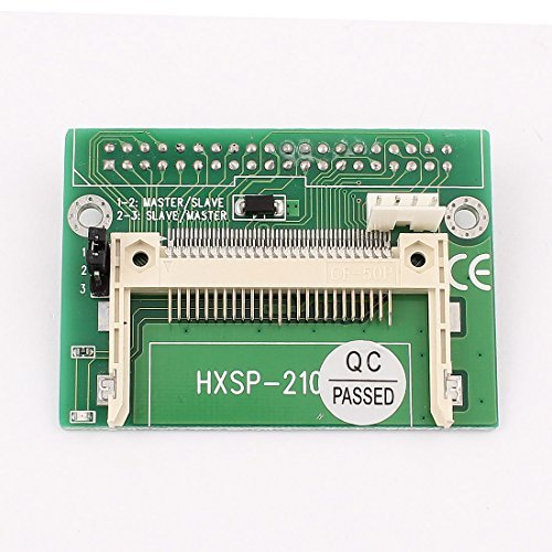 - DealMux Compact Flash CF to 3.5 40 Pin Female IDE HDD Converter Card Adapter