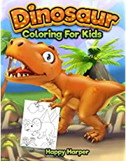 Dinosaur Coloring for Kids: The Fun Prehistoric Coloring Book for Boys and Girls