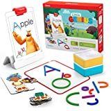 Osmo - Little Genius Starter Kit for iPad - 4 Educational Learning Games - Ages 3-5 - Phonics & Creativity - STEM Toy (Osmo iPad Base Included)