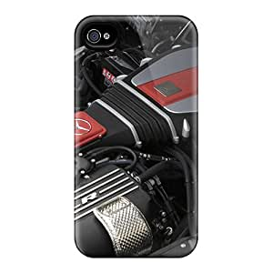 New Style WonderTree Hard Case Cover For Iphone 4/4s- Mercedes Benz Slr Mclaren Engine