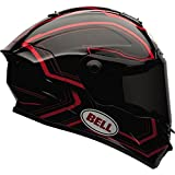 Bell Star Pace Helmet - Large/Black/Red