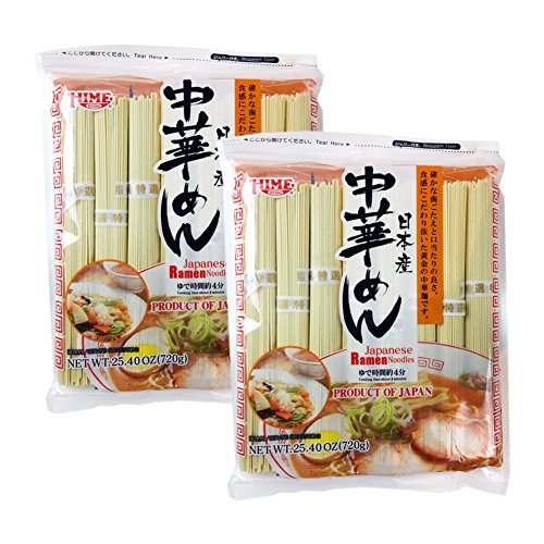 Hime Japanese Dried Ramen Ramyun Noodles 25.4 oz (720g) (Pack of 2)