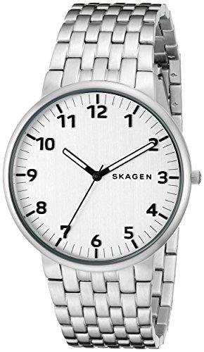 Skagen Men's SKW6200 Ancher Stainless Steel Link Watch (Link Skagen Bracelet)