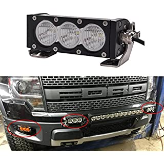 Discount Lightronic CREE 30W 6 inch FLOOD Led Light Bar for Offroad ATV 4WD Truck With Replace Spot Lens