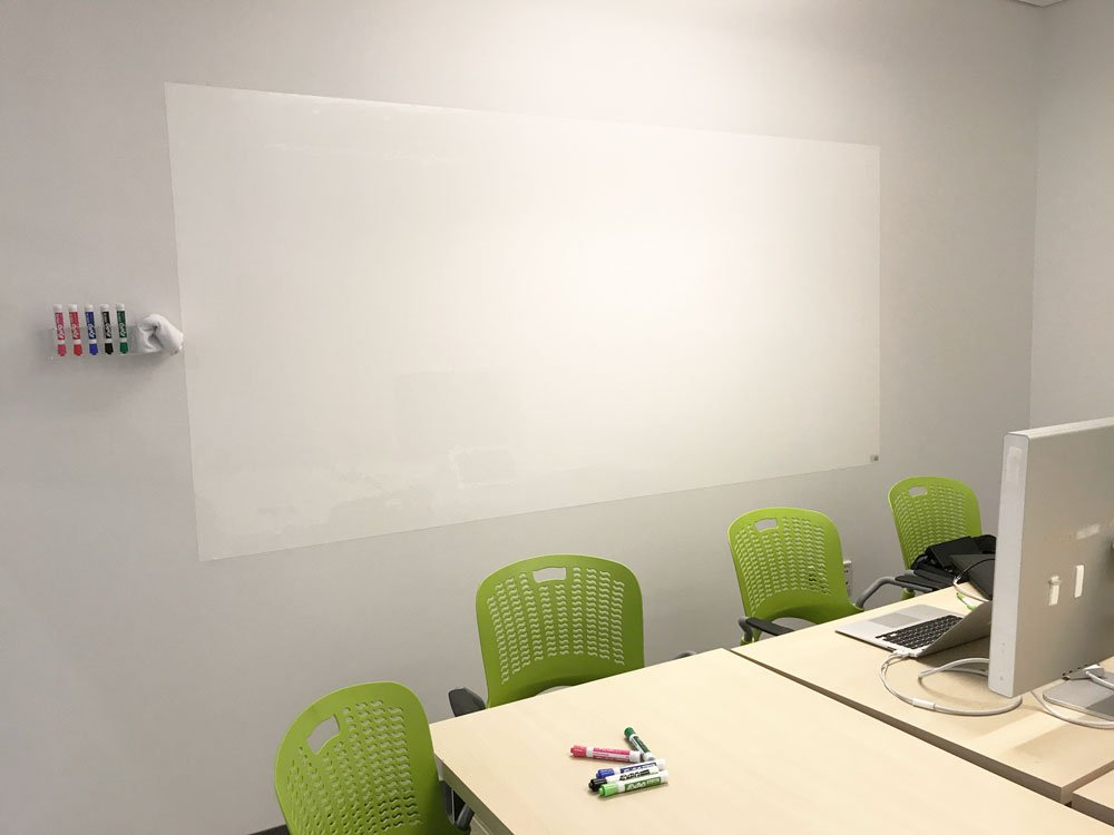 Think Board Premium Whiteboard Film, Peel and Stick, X-Large, White by Think Board (Image #7)