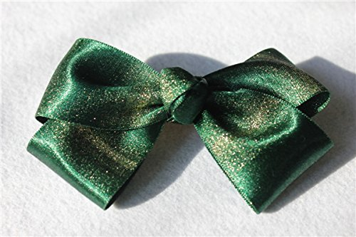 usongs Hand hairpin head flower hair accessories green throwing bow word folder top folder