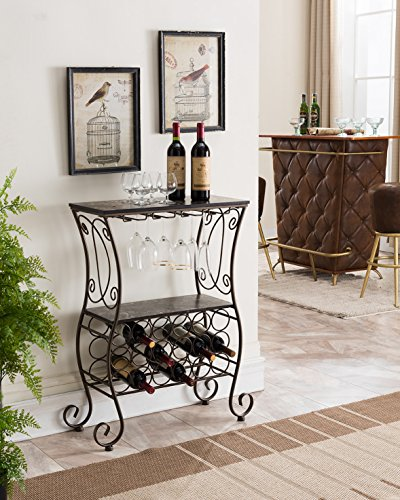 Metal Wine Console - 2