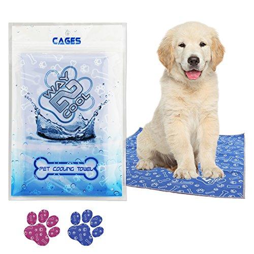 Way 2 Cool Pet Microfiber Cooling Towel Image