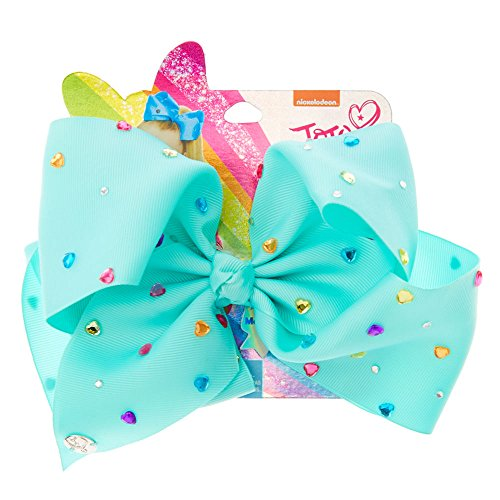 Claire's Girl's JoJo Siwa Large Magnificent Mint Signature Hair Bow by JoJo Siwa