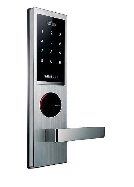 Amazon.com: Cerradura para puerta de Digital Samsung shs ...