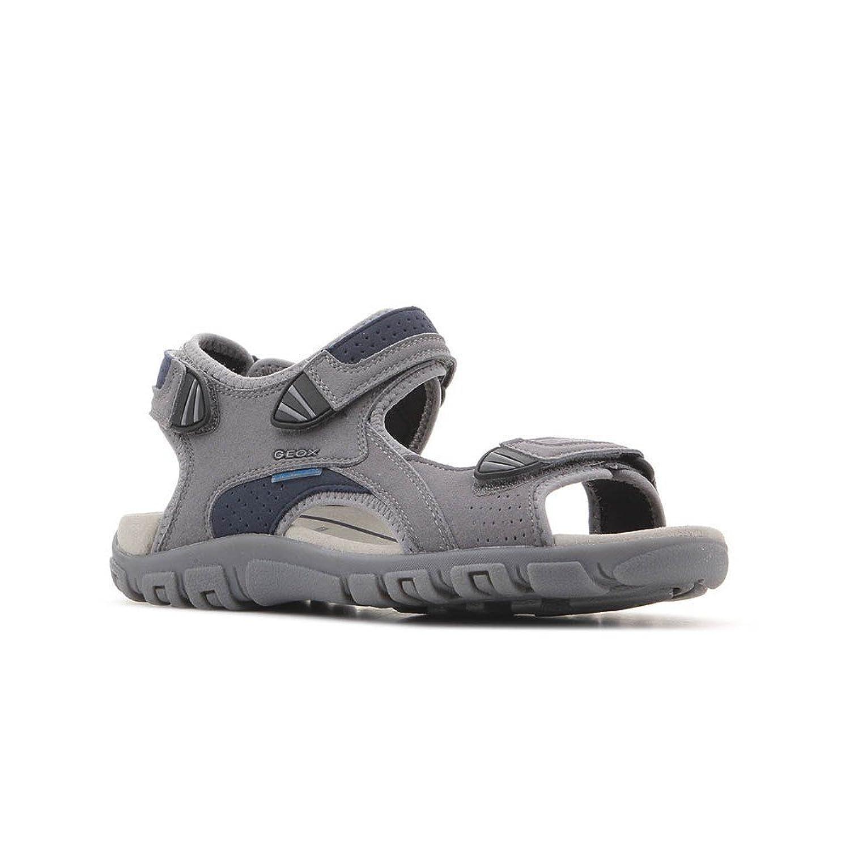 Geox - Sandalias de Vestir para Hombre Stone/Blue 46 EU