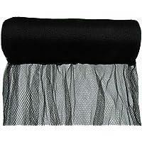 5m Width - Anti Bird Netting, Extruded Pest Net/Mesh Fruit Tree Black/White (5m x 10m, Black)