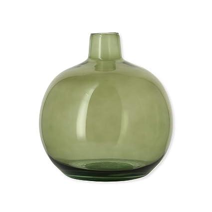 Bruno Evrard Astoria jarrón damajuana Verde en Cristal Reciclado 24 cm – Alric