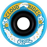 Cloud Ride Wheels Ozone Cyan Skateboard Wheels - 70mm 83a (Set of 4)