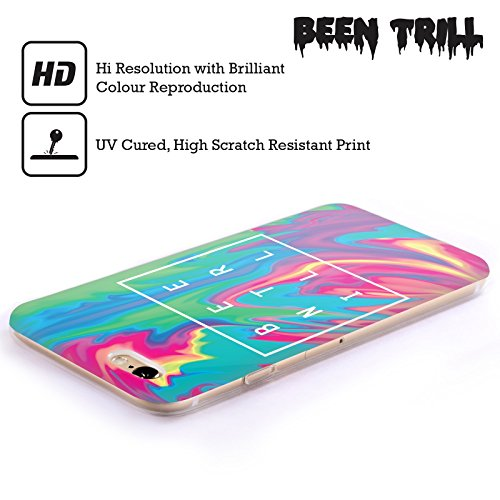 Official Been Trill Turquoise Tie Dye Soft Gel Case for Apple iPhone 4 / 4S