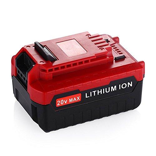 20V 5.0Ah Max Replacement Battery for Porter Cable Lithium PCC680L PCC682L PCC685L Cordless Powert Tools Topbatt
