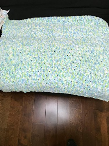 (HAND CROCHETED BABY BLANKET)