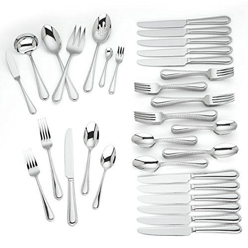 (Reed & Barton Danville 53-piece Stainless Flatware Set)