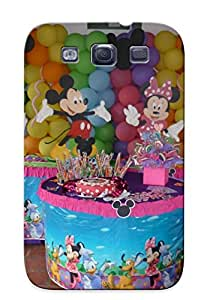 Protective Tpu Case With Fashion Design For Galaxy S3 (mickey Mouse Y U Amigo Fiestaidea )