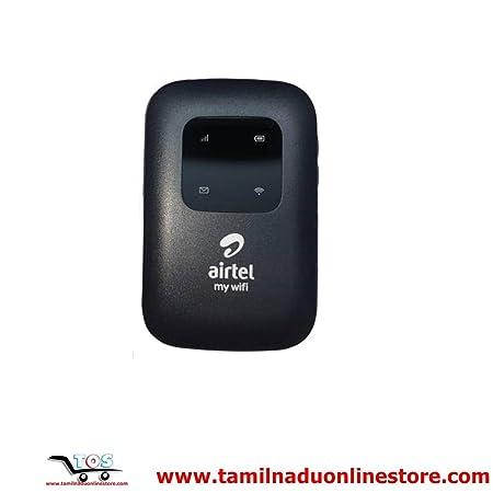 PCSSYSTEM Airtel 4G LTE Hotspot Binatone Portable WiFi Data Card  2700 mAh Battery  Black  Data Cards   Dongles