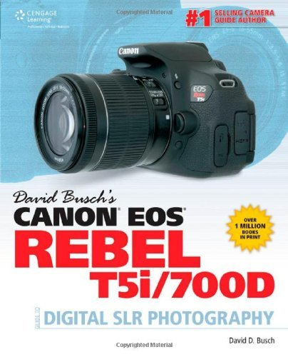 David Busch's Canon EOS Rebel T5i/700D Guide to Digital SLR Photography (David Busch's Digital Photography Guides) by David Busch (19-Aug-2013) Paperback